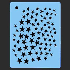 Mini Stars QuickEZ Stencil - Silly Farm Supplies
