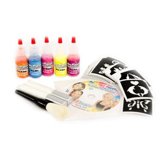 My First Blacklight Glitter Tattoo Kit - Silly Farm Supplies