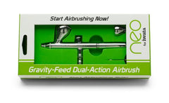 NEO CN Gravity-Feed Dual Action Airbrush by Iwata-Medea - Silly Farm Supplies