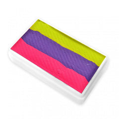 Neon Disco Diamond FX Split Cake (RS30-66) - Silly Farm Supplies