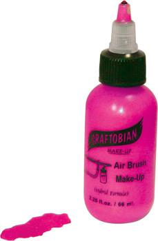 Neon Pink Graftobian F/X AIRE Airbrush Make Up 2.25oz