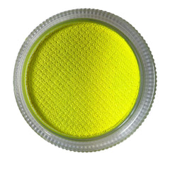 Neon Yellow Diamond FX 30gm Essential Cake (150) - Silly Farm Supplies