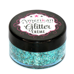 Neptune Glitter Creme 10g Jar by Amerikan Body Art - Silly Farm Supplies
