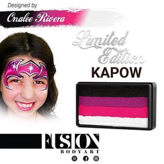 Onalee's Collection KAPOW FX Split Cake 30gm by Fusion Body Art - Silly Farm Supplies