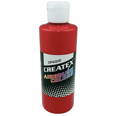Opaque Red 5210 Createx Fabric Airbrush Paint 2oz