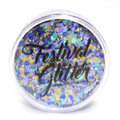 PEACOCK Festival Glitter 50ml (1 fl oz) - Silly Farm Supplies