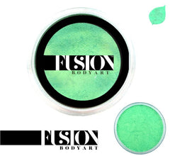 Pearl Mint Green 25g Fusion Body Art Face Paint - Silly Farm Supplies