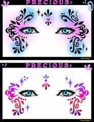 Precious Stencil Eyes Stencil - Silly Farm Supplies