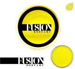 Prime Bright Yellow 32g Fusion Body Art Face Paint - Silly Farm Supplies