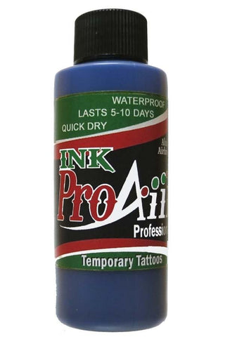 ProAiir Blue Temporary Airbrush Ink