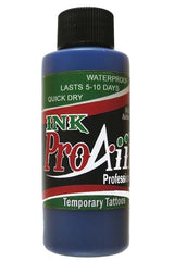 ProAiir Blue Temporary Airbrush Ink - Silly Farm Supplies