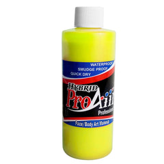ProAiir Fluorescent Yellow Hybrid Makeup - Silly Farm Supplies