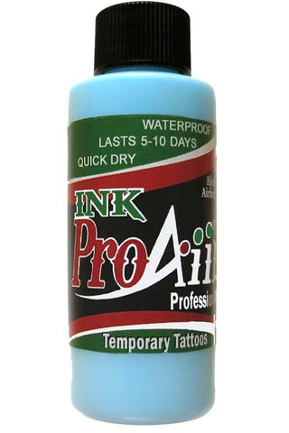 ProAiir Sky Blue Temporary Airbrush Ink
