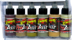ProAiir Zombie All 6-Color Hybrid Makeup Set - Silly Farm Supplies