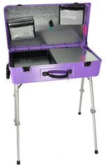"Purple Craft-n-Go Paint 28"" Station with Accessories - Silly Farm Supplies"