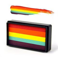 Rainbow Arty Brush Cake - Silly Farm Supplies