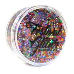 RAINBOW PRIDE Festival Glitter 50ml (1 fl oz) - Silly Farm Supplies