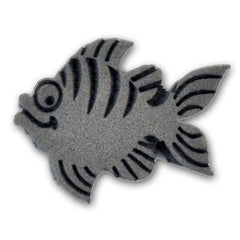 Ruby Red Cute Fish Foam Stamp - Silly Farm Supplies