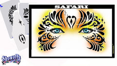 Safari Stencil Eyes Stencil - Silly Farm Supplies
