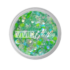 Sea of Glass Loose Glitter Jar 7.5g by Vivid Glitter - Silly Farm Supplies