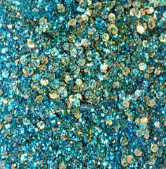 Siren Mermaid Magic Eco-Friendly GLITTERPRO Loose Glitter- 10g Jar - Silly Farm Supplies