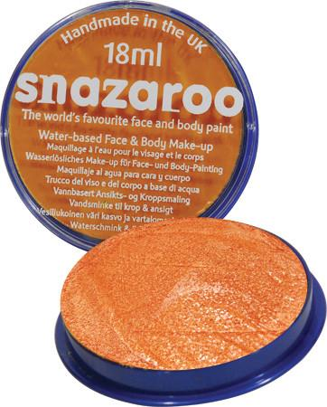 Snazaroo Sparkle Orange