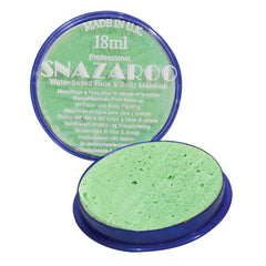Snazaroo Sparkle Pastel Green - Silly Farm Supplies