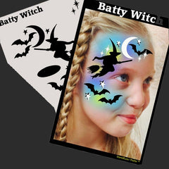 SOBA Profile Batty Witch Stencil - Silly Farm Supplies