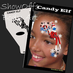 SOBA Profile Candy Elf Stencil - Silly Farm Supplies
