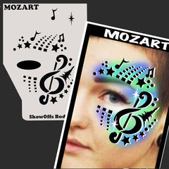 SOBA Profile Mozart Stencil - Silly Farm Supplies