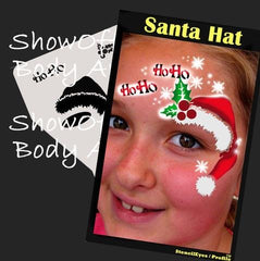 SOBA Profile Santa Hat Stencil - Silly Farm Supplies