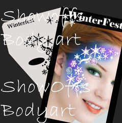 SOBA Profile Winterfest Stencil - Silly Farm Supplies