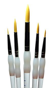 Soft Grip 5pc Brush Pack (round) SG303