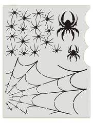 Spiderz BAD6013 Bad Ass Stencil - Silly Farm Supplies