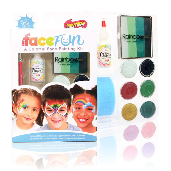 St. Patrick's Day Silly Face Fun Rainbow Kit