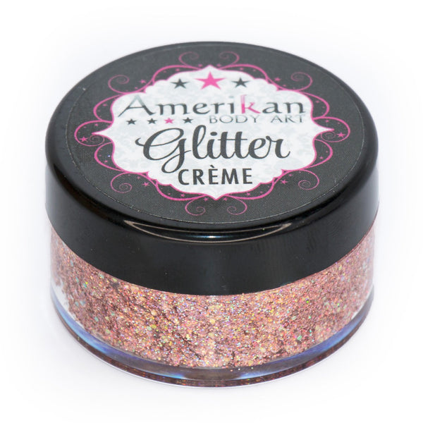 Supernova Glitter Creme 10g Jar by Amerikan Body Art