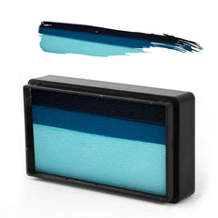 "Susy Amaro's Easy Stroke Collection ""Shark Teal"" Arty Brush Cake - Silly Farm Supplies"