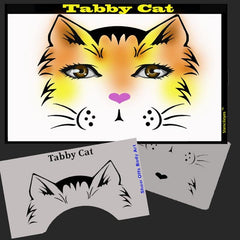 Tabby Cat Stencil Eyes Stencil SE91 - Silly Farm Supplies