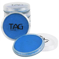 TAG Neon Blue Face Paint - Silly Farm Supplies
