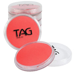 TAG Neon Coral Face Paint - Silly Farm Supplies
