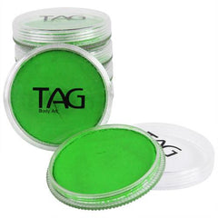 TAG Neon Green Face Paint - Silly Farm Supplies