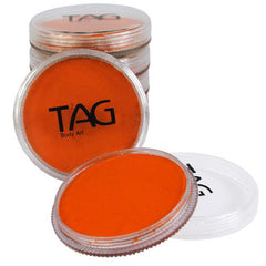 TAG Neon Orange Face Paint - Silly Farm Supplies
