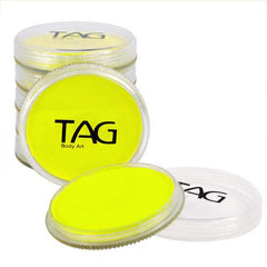 TAG Neon Yellow Face Paint - Silly Farm Supplies