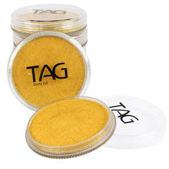 TAG Pearl Gold Face Paint - Silly Farm Supplies