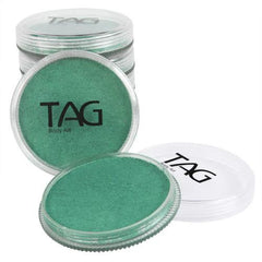 TAG Pearl Teal Face Paint - Silly Farm Supplies