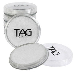 TAG Pearl White Face Paint - Silly Farm Supplies