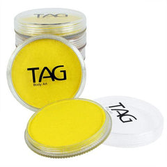 TAG Pearl Yellow Face Paint - Silly Farm Supplies