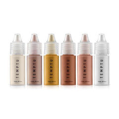 Temptu Silicone Based 6 Color Highlighter Starter Set - Silly Farm Supplies