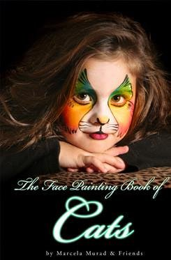 The Face Painting Book of Cats by Mama Clown