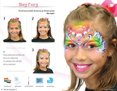 The Face Painting Book of Rainbows and Bling by Marcela Murad, Heather Green & friends - Silly Farm Supplies